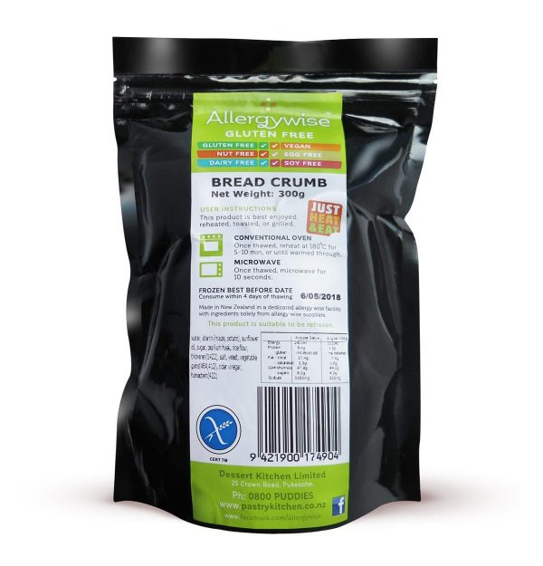 Allergywise Bread Crumbs 300g