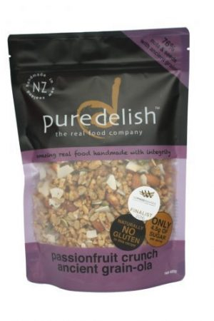 Pure Delish Passionfruit Crunch Grainola 400g