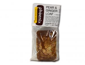 Phoenix Pear & Ginger Loaf Mini 100g FROZEN