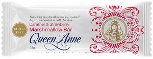 Queen Anne Milk Chocolate Caramel & Strawberry Marshmallow Bar 55g