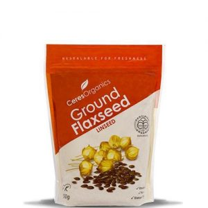Ceres Organics Ground Flaxseed (Linseed) 250g