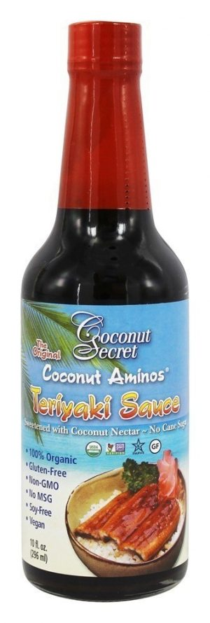Coconut Secret Teriyaki Sauce 296ml