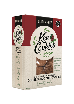 Kea Cookies Double Choc Chip 250g
