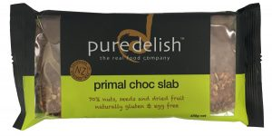 Pure Delish Primal Choc Slab 400g