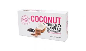Herb & Spice Mill Coconut Triple O Wafers 90g