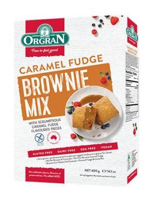 Orgran Caramel Fudge Brownie Mix 400g