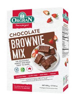 Orgran Chocolate Brownie Mix 400g