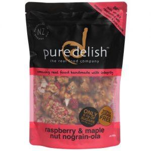Pure Delish Raspberry & Maple Nograinola 400g