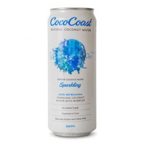 Cococoast Sparkling Coconut Water 500ml