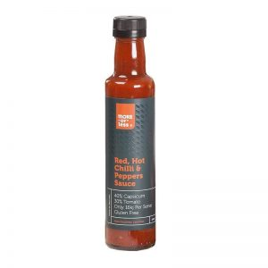 More or Less Red Hot Chilli and Peppers Sauce 250ml