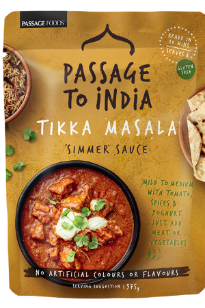 Passage to India Tikka Masala Simmer Sauce 375g