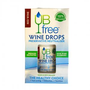 UB Free Red Wine Drops 8ml