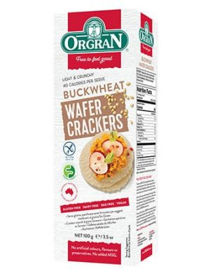 Orgran Buckwheat Wafer Crackers 100g