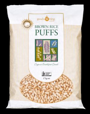 Good Morning Brown Rice Puffs 175g