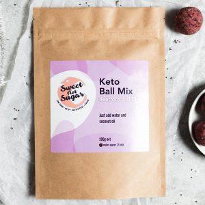 Sweet Not Sugar - Keto Ball Mix Beetroot and Chia 200g