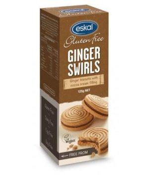 Eskal Ginger Swirls 125g