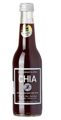 Chia Sisters Chia Blackcurrant & Apple 275ml