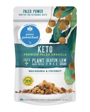 Brookfarm Keto Granola Macadamia & Coconut 330g