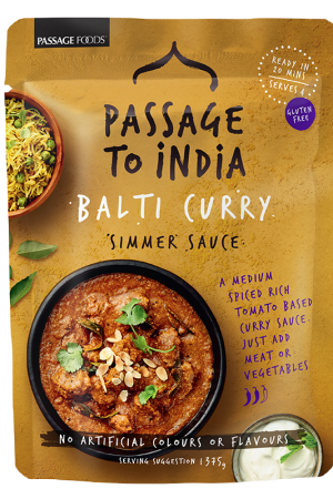 Passage to India Balti Curry Simmer Sauce 375g