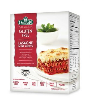 Orgran Lasagne Mini Sheets 200g