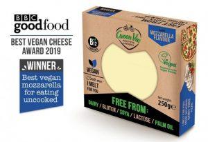 Green Vie Mozzarella Flavour Cheese Block 250g