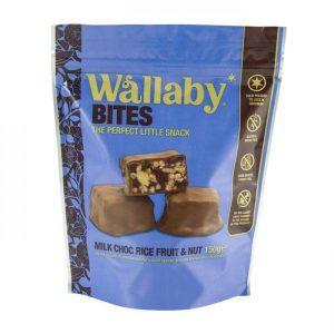 Wallaby Bites Milk Chocolate Fruit & Nut 150g
