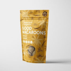Little Bird Vanilla & Almond Macaroons 125g