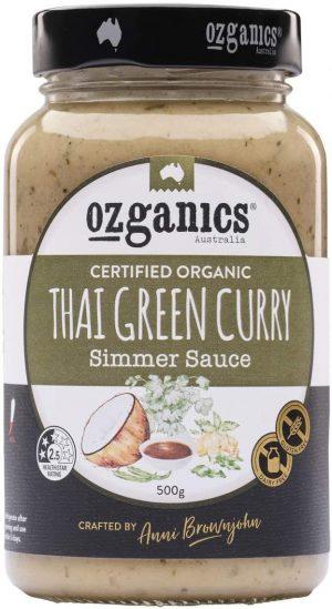 Ozganics Thai Green Curry 500g