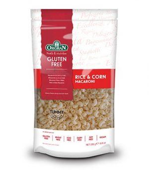 Orgran Rice & Corn Macaroni 250g