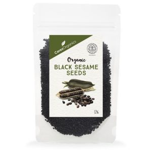 Ceres Organics Black Sesame Seeds 125g