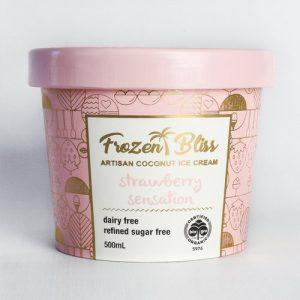 Frozen Bliss Ice cream - Strawberry Sensation 500ml FROZEN