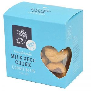 Molly Woppy Milk Choc Chunk Cookie Bites 140g