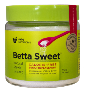 Hebe Botanical Betta Sweet Stevia Jar 350g