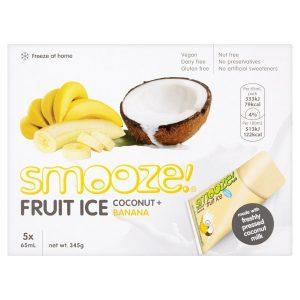 Smooze Coconut & Banana Fruit Ice 10x65ml