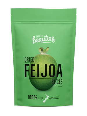 Little Beauties Dried Feijoa Slices 50g