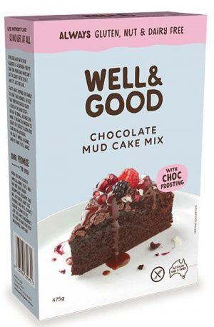 Well & Good Choc Mud Cake Mix 475g