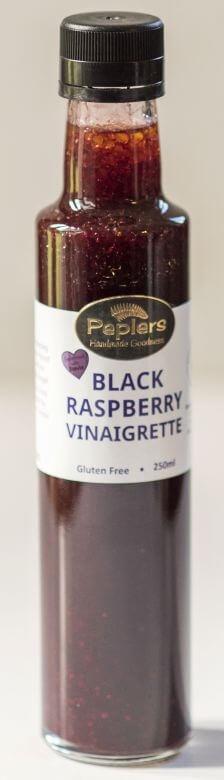 Peplers Stevia Range Black Raspberry Vinaigrette 250ml