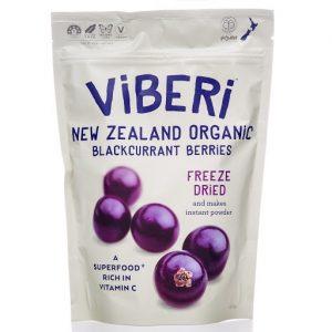 Viberi Freeze Dried Blackcurrants 120g