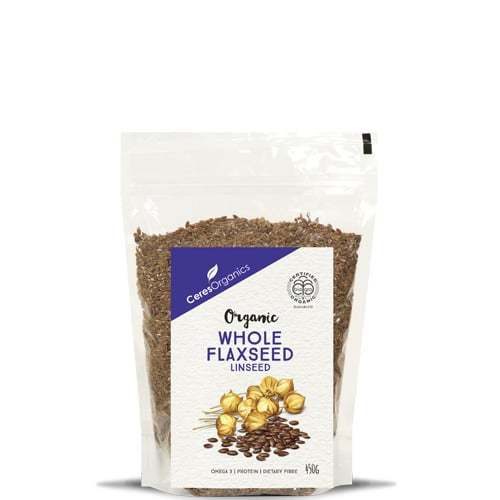 Ceres Organics Whole Flaxseed (Linseed) 450g