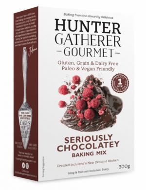 Hunter Gatherer Seriously Chocolatey Baking Mix 300g