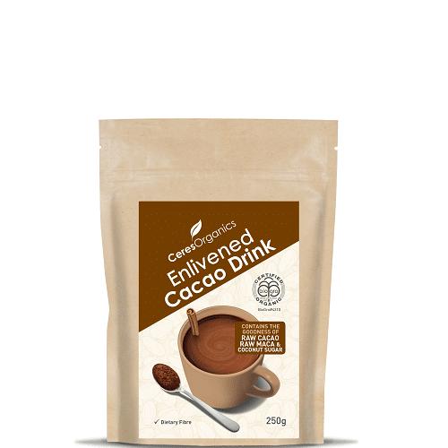 Ceres Organics Enlivened Cacao Drink 250g