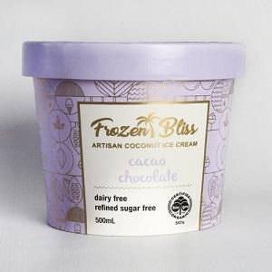 Frozen Bliss Ice cream - Cacao Chocolate 500ml FROZEN
