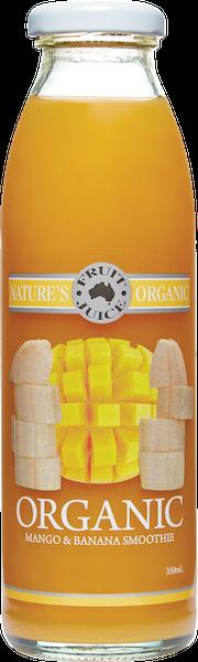 Natures Organic Juice - Mango Banana 350ml