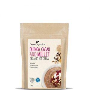 Ceres Organics Quinoa, Cacao & Millet Hot Cereal 400g