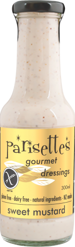 Parisettes Sweet Mustard Dressing 300ml