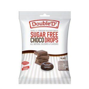 Double Ds Sugar Free Choco Drops 70g