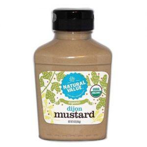 Natural Value Dijon Mustard 255g