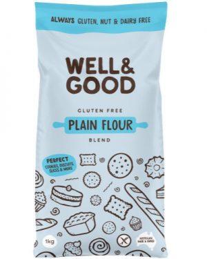 Well & Good GF Plain Flour Blend 1kg