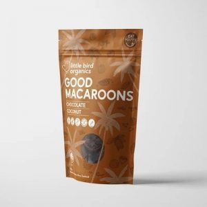 Little Bird Chocolate Macaroons 125g