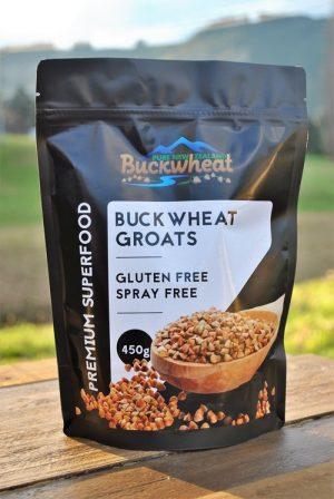 Pure NZ Buckwheat Groats 450g